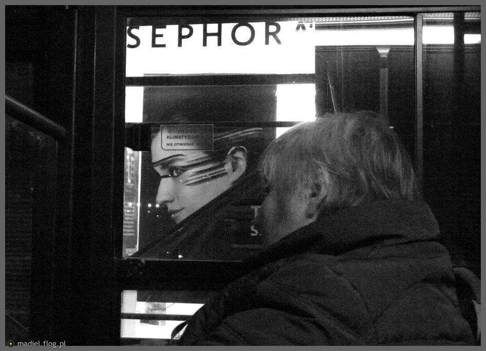 Sephora- czyli miejskie powidoki.... dziękuję Wam za wyróżnienie!